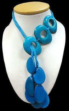 06 Wholesale Peruvian Tagua Donuts Necklaces Inca Designs