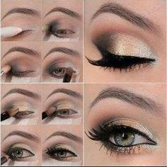 Beautiful eye make up tutorial