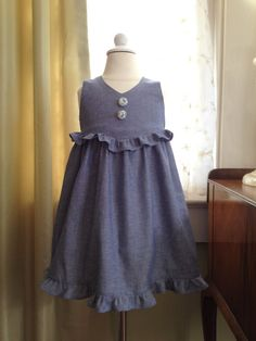 Pretty Pansy Easter Dress Pattern PDF. Sewing by RubyJeansCloset