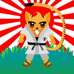 Tigre Karateca