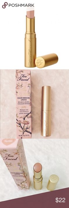 "✨Too faced la creme'Topless"" fullsize lipstick !✨ Authentic new full size comes with box ! Bundle or offer I'm a top trusted 5✨rated makeup seller ! 400 + love notes 19k follwers ✨  ! I  also send juicy gifts ! And package professionally ! Offer or bundle and I will do a private offer & top bundle discount more ! Too Faced Makeup Lipstick"