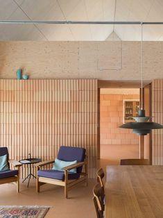 Contemporary Architecture, Interior Architecture, Interior Design, Design Art, Laminated Veneer Lumber, Long House, Floor Layout, Higher Design, Architectural Elements