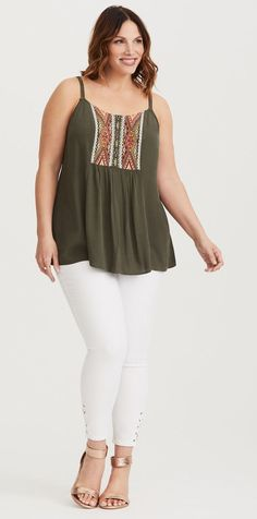 Plus Size Cami - Plus Size Fashion for Women #plussize