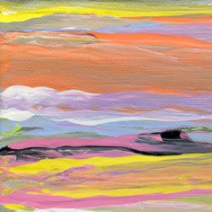 Saatchi Online Artist Susan Jean Peters; Printmaking, Sea Of Colours #art