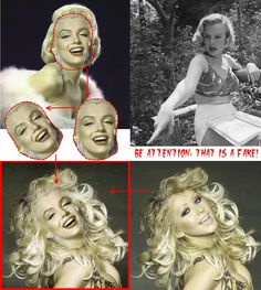 <fake-1231> Unknown freak cloned Marilyn's face into the photo of Christina Aguilera
