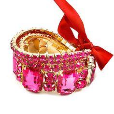 Luminescent Pink Party Bracelet $28.00