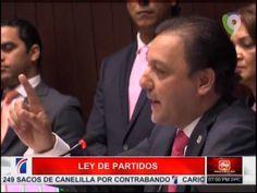 En Medios De Debates Aprueban Ley De Partidos #Video