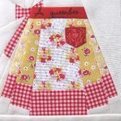 Vintage Apron~paper piecing pattern - via @Craftsy