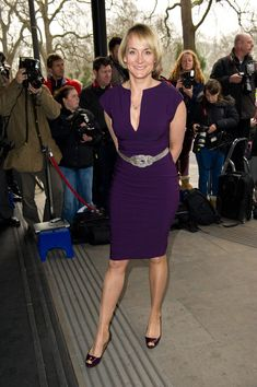 Louise Minchin - The TRIC Awards 2012 - Outside Arrivals