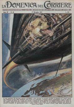 la-domenica-del-corriere-cover (17th November 1957) Cover by Walter Molino | Flickr - Photo Sharing!