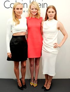 Diane Kruger, Emma Stone and Amy Adams