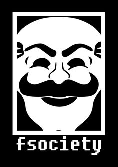 """""""Power belongs to those who take it"""" Pimp your anti-establishment cred and show allegiance to fsociety with this kickass tee. FSociety is available now on t-shirts and accessories on Redwolf.in"""