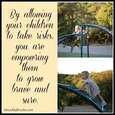Do you allow your children to take risks?