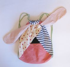 DOGGYBAG small size backpack peach by nogaravin on Etsy, €22.00