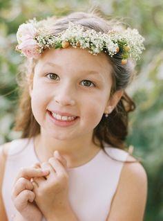 DIY Wedding: Flower Girl Wreaths