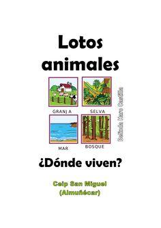 Donde viven los animales bhc