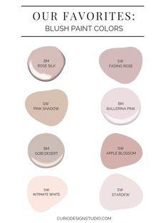 These shades of blush are warm, sophisticated and surprisingly neutral as a backdrop to your space. Here are our favorite blush paint colors.