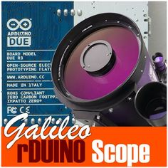 FREE and open source Arduino Due Telescope GOTO. Find this and other hardware projects on Hackster. Diy Electronics, Electronics Projects, Diy Telescope, Simple Arduino Projects, Radio Astronomy, Arduino Programming, Arduino Modules, Cnc Software, Robotics Projects