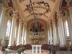 What a beautiful space! Cathedral of St. John the Evangelist Milwaukee, WI