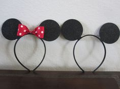 Mickey/ Minnie Mouse Ears :)