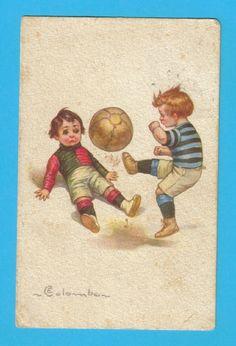 ART DECO sg COLOMBO sports soccer football