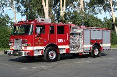 Arcadia Fire Department (CA) 2005 Pierce Pumper #fire #truck #setcom