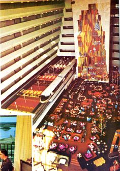 The contemporary Resort was such an amazing design back then...#disneyworldpast