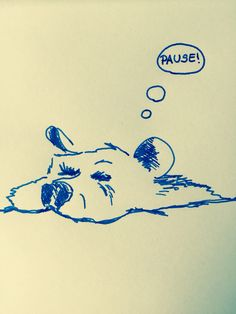 Pausen-Bär #eintageinbaer