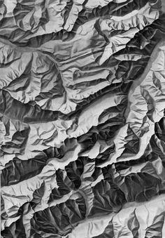 The Map as an Artistic Territory: Relief Shading Works and Studies...