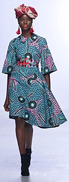O 'milua by Olajumoke Ademilua : Nigeria. Photo by Simon Deiner SDR Photo. VLISCO fabric.
