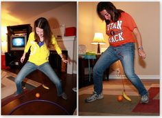 Minute to Win It Party:  All stuff that ANY person can prep!!  love the banana and orange game the best.