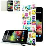 Coque wiko rainbow hibou muticolor