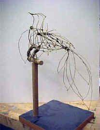 Art Lesson Plan: Linear Sculpture -Wire