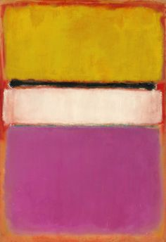 Mark Rothko: White Center (Yellow, Pink and Lavender on Rose), completed in 1950 (Submitted by oohlalalauren)