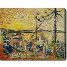 USA Henri Matisse 'Study for 'Luxe, calme et volupté' Abstract Oil on Art