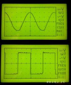 Осциллограф на микроконтроллере ATMEGA32А Arduino