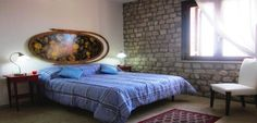 www.lecamerepinte.it  one of the two bedrooms of the apartment...