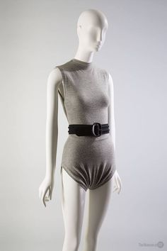 Claire McCardell swimsuit, 1946, 2002.69.1, gift of Marina Hiatt — at Museum at FIT.