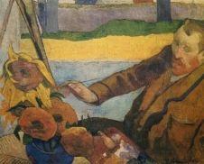 Van Gogh Painting Sunflowers  Paul Gauguin