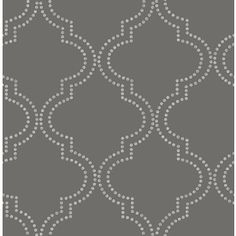 Brewster Wallcovering Charcoal Paper Geometric Wallpaper 2625-21801