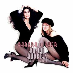 """Rumor was rife about Barbra Streisand and Cher recording a duet. I got inspired by someone in a Facebook fan page who offered """"Bosom Buddies"""" as a possible song for both! #cher #streisand"""