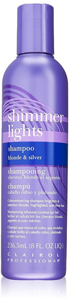 Clairol Shimmer Lights Original Shampoo Blonde and Silver 8 oz. ** To view further for this item, visit the image link.