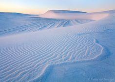 Désert de sable blanc Nouveau Mexique (white sands)