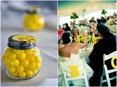 yellow white wedding theme Yellow and White Outdoor Summer Wedding by Kamila Harris Photography