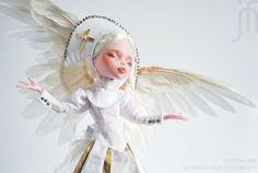 My-dolly — «OOAK Custom Monster High *Angel Saint* Repaint by moniee Draculaura Doll Xmas» на Яндекс.Фотках