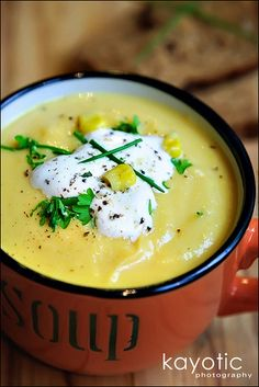 Cauliflower soup...want to try this!