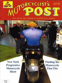 Motorcyclists Post Magazine New York Show Battery Bill Biker Billy Trikes MMA
