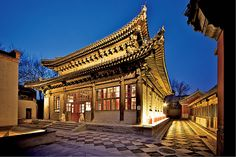 A Beijing Temple Restored by Tony Perrottet, wsj #Architecture #Beijing #Temple