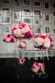 www.TrulyYoursPlanning.com- STUNNING FUSCHIA FOR A WEDDING | Elegant Wedding