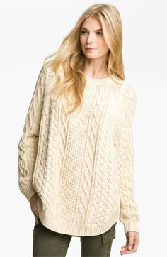 Oversized Fisherman Sweater